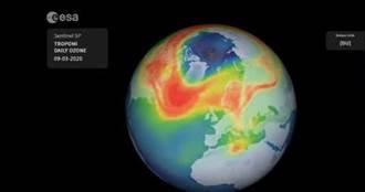 不尋常! 北極上空出現迄今最大臭氧層破洞