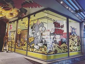 湯姆貓與傑利鼠快閃 新光三越台北南西店吸粉絲