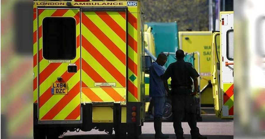 英國醫療物資短缺,國民保健署南丁格爾醫院被稱為英國版「方艙醫院」。(圖/路透)