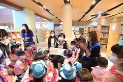 世界閱讀日 王惠美與說故事機器人邀小朋友與閱讀同行