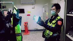 樹林分局購「紫外線殺菌燈」 助員警抗新冠疫情