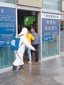 乘客實施雙檢測 武漢返京高鐵票 搶購一空