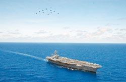美補強亞太戰力 卡爾文森號上陣
