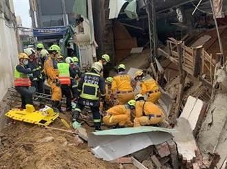 中市民宅施工 55歲工人遭活埋送醫不治