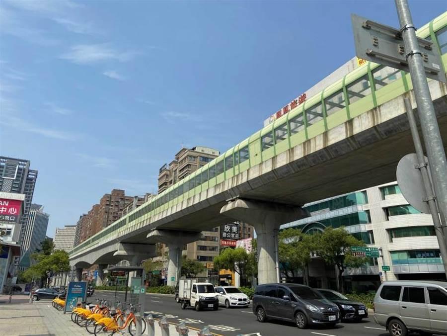 台中捷運綠線拚今年底通車,為台中房市增添一大利多。(圖/中時資料庫)
