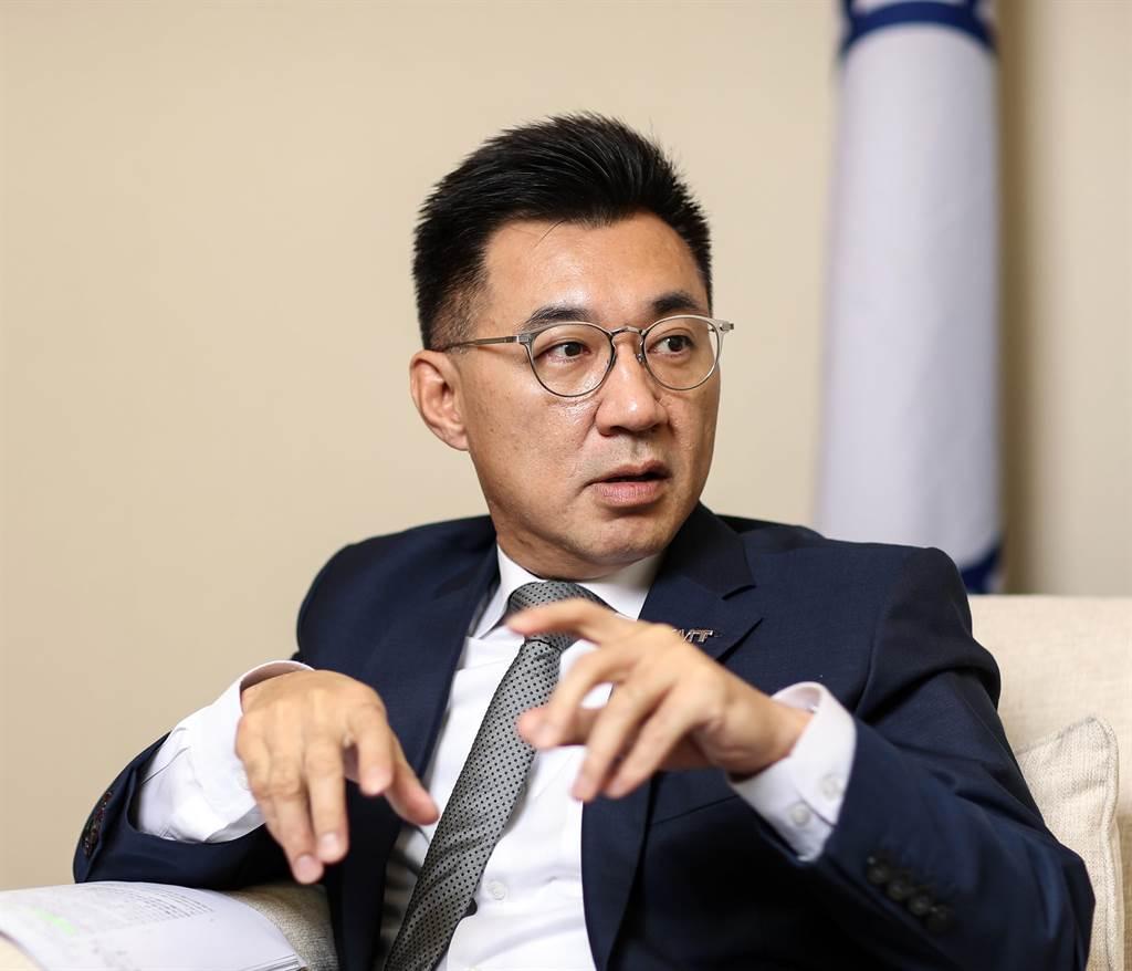 國民黨主席江啟臣。(圖/本報資料照)