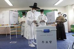 南韓國會選舉投票率高達66.2% 創28年新高
