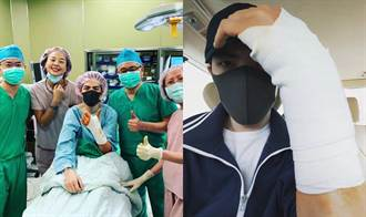 老蕭開刀報平安:手術非常順利
