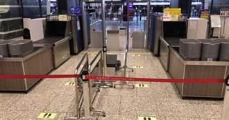 疫情衝擊!桃機第1航廈入境人數掛零 關西機場0國際航班起降