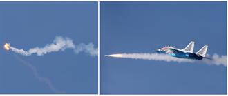 北韓公布MiG-29發射飛彈畫面