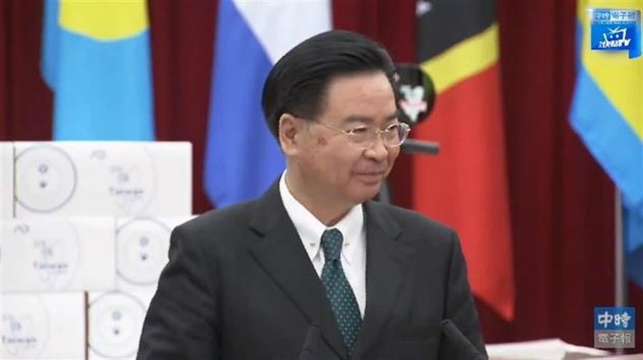 外交部長吳釗燮。