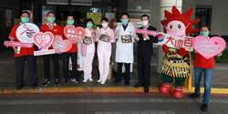台南大遠百致敬醫護 500個暖心便當獻成大醫院