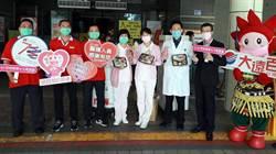 台南大遠百500個暖心便當向醫護人員致敬