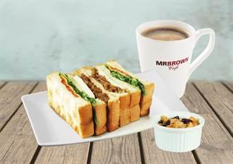 省荷包也要吃飽 伯朗咖啡館推早餐套餐百元有找