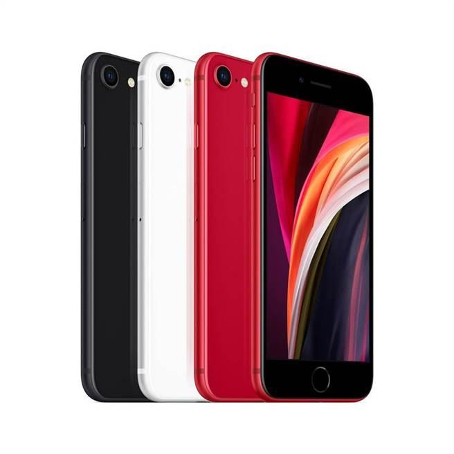 蘋果新一代iPhone SE將於4月24日開賣,電信業陸續啟動預購。(圖/台灣大提供)