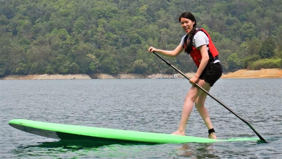 熱愛大自然的黃黛閔透過「彈性工作8小時」,兼顧工作與生活品質。