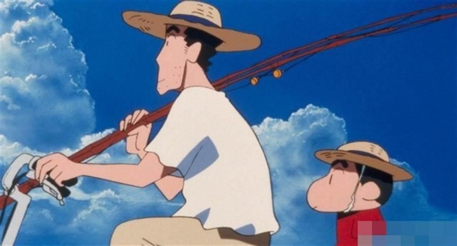 野原廣志是動漫迷們心目中的好父親。(取自網路)