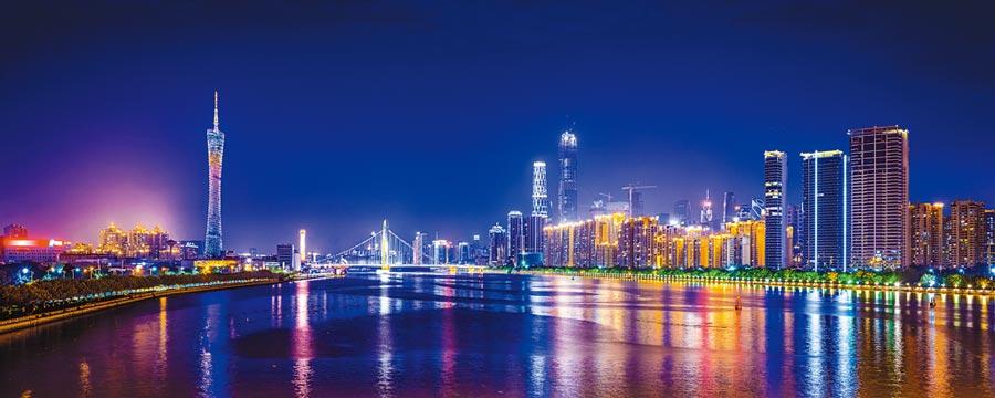 廣州夜景。