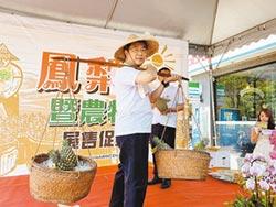 黃偉哲叫賣 3700箱鳳梨完售
