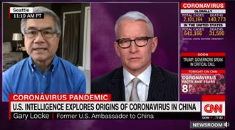 CNN主播庫柏為台發聲:防疫耀眼 WHO刻意忽視