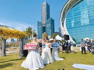 高市府推遊艇婚禮 打造愛情城市