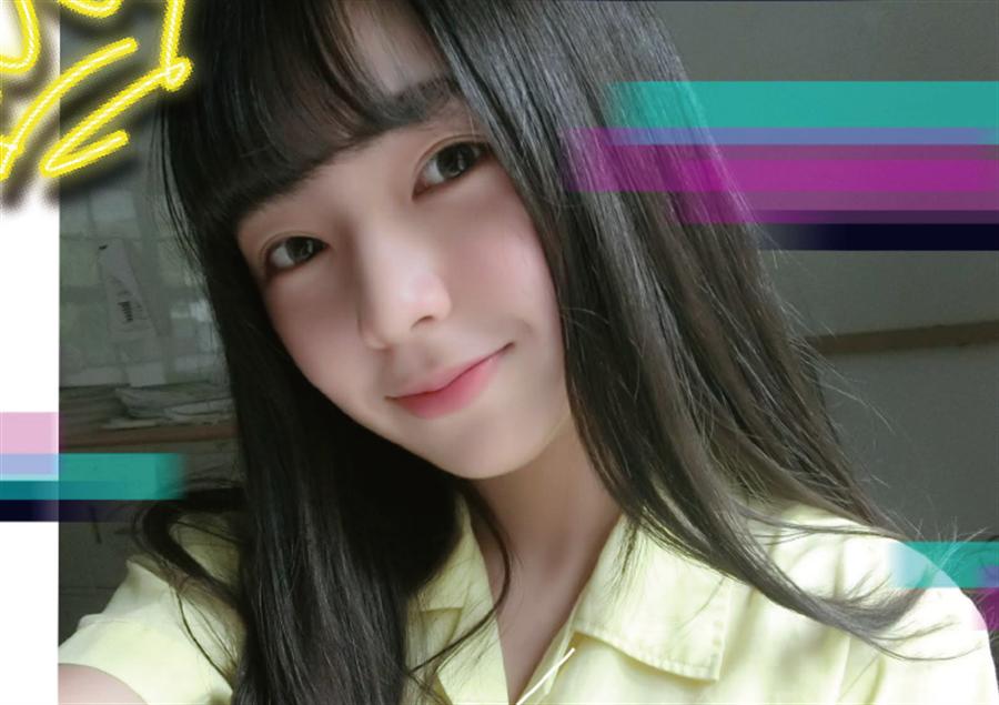 台灣最美女高中生票選揭曉!景美甜美系女孩許悅奪冠。(圖/取自Meteor)