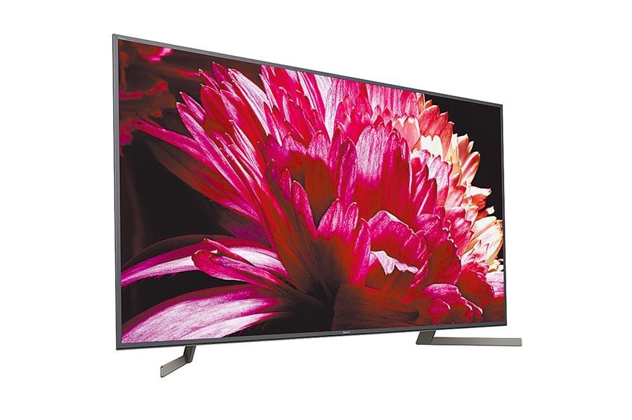 現買Sony指定機種即享myVideo線上影音平台4個月或2個月豪華月租方案,Sony BRAVIA液晶電視X9500G系列。(Sony提供)