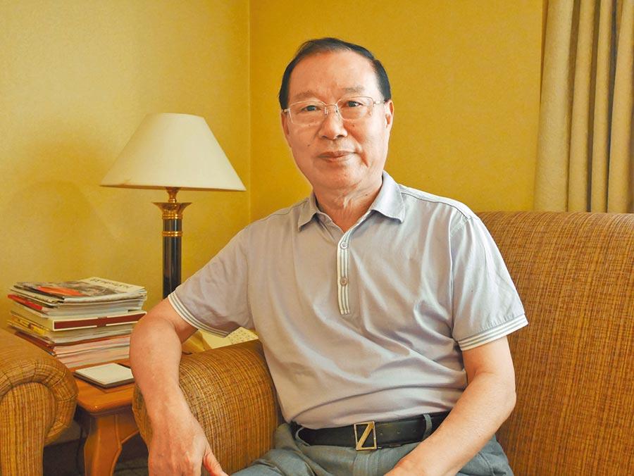 大陸國台辦前副主任王在希。(記者陳君碩攝)
