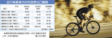 E-Bike出口值 首超傳統自行車