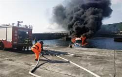 蘭嶼火燒船 男童燒燙傷