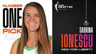 WNBA關門照樣選秀 莎賓娜當狀元