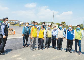 聯外道路改善地質 拚5月底完工
