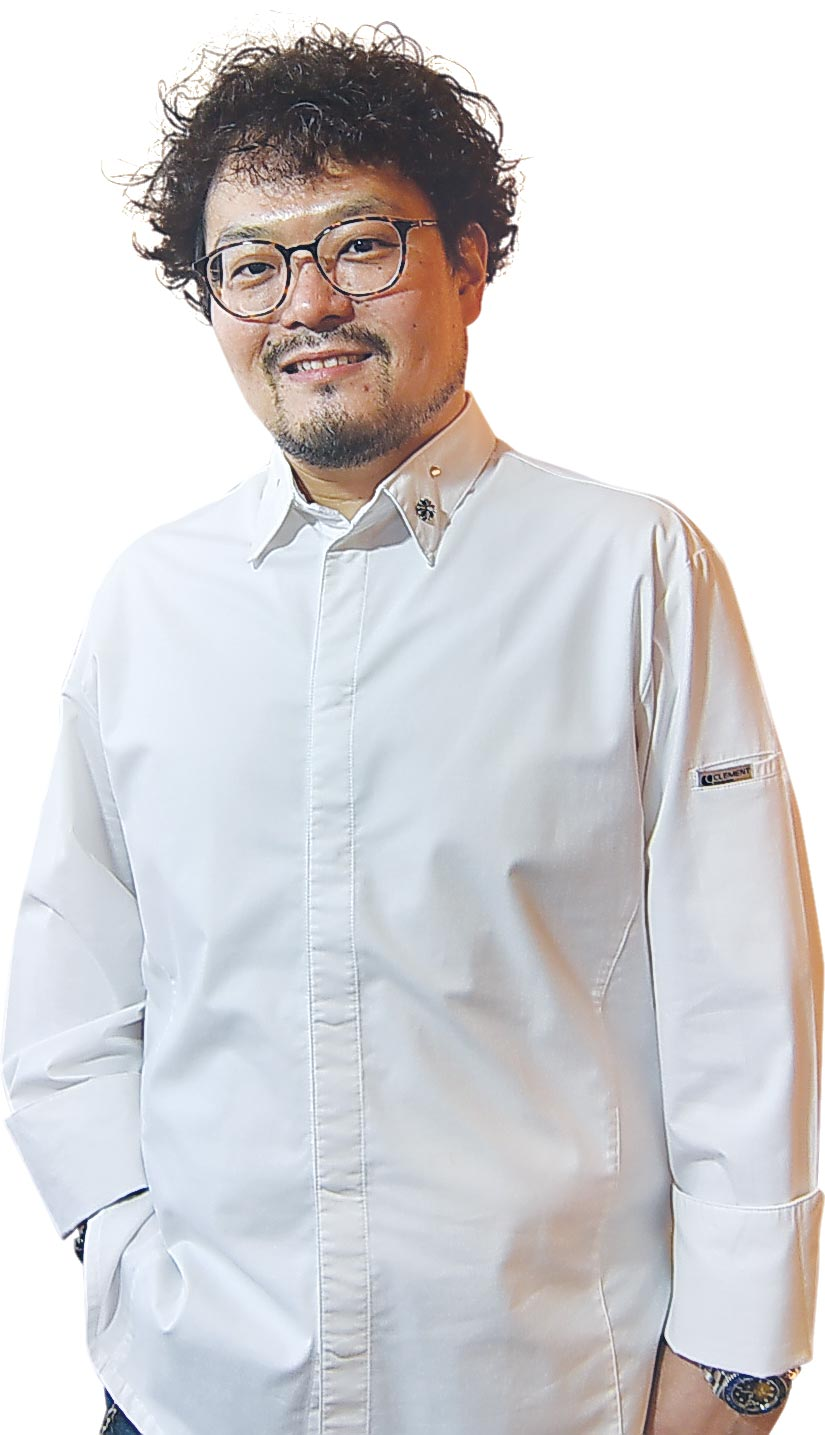 ˙有「舌尖建築師」稱號的平塚牧人(Makito Hiratsuka)曾在台中〈LeMout樂沐〉法式餐廳擔任甜點主廚。圖/姚舜