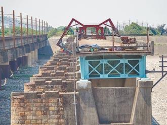 舊大安溪橋 明年完工再現風華