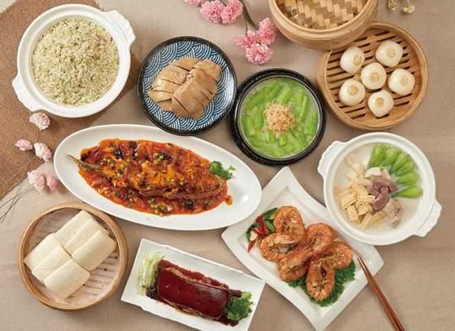 上海鄉村今年母親節套餐推冷凍宅配及常溫外送;圖為3600鄉村套餐。圖/業者提供