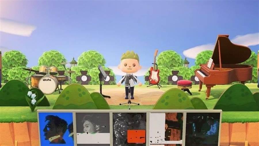 黃偉晉首創線上虛擬簽唱會。(愛貝克思提供)