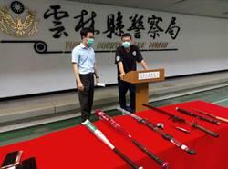 警所前械鬥局長自請處分 12嫌全被收押