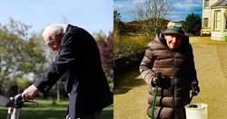 90歲老奶奶挑戰「走樓梯282次」!為辛勞醫護募款近千萬