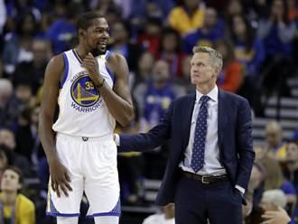 NBA》撞見科爾喝酒 促成KD想去勇士