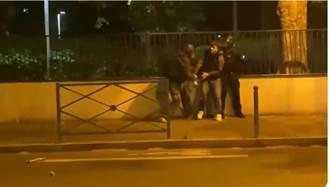 巴黎封城郊區騷亂 年輕人與警方衝突