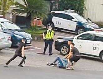 警察被塑膠 重創公權力