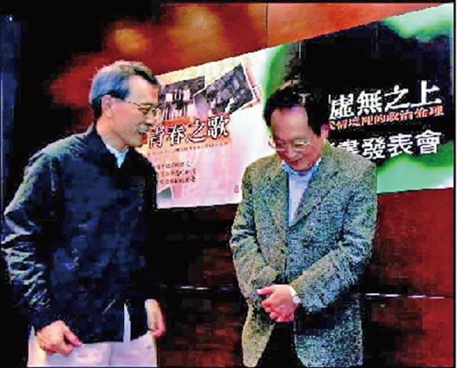 曾經是70年代的左翼青年鄭鴻生(左)與錢永祥(右)分別以著作來表達他們那個時代的熱情。(本報系資料照片)