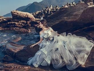 海廢垃圾穿上身 崇右攝影展籲愛海洋