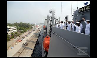 外交部:敦睦艦隊拜會帛琉總統未要求戴口罩