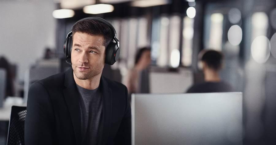 Jabra Evolve 2系列商務耳機正式推出。(Jabra提供/黃慧雯台北傳真)
