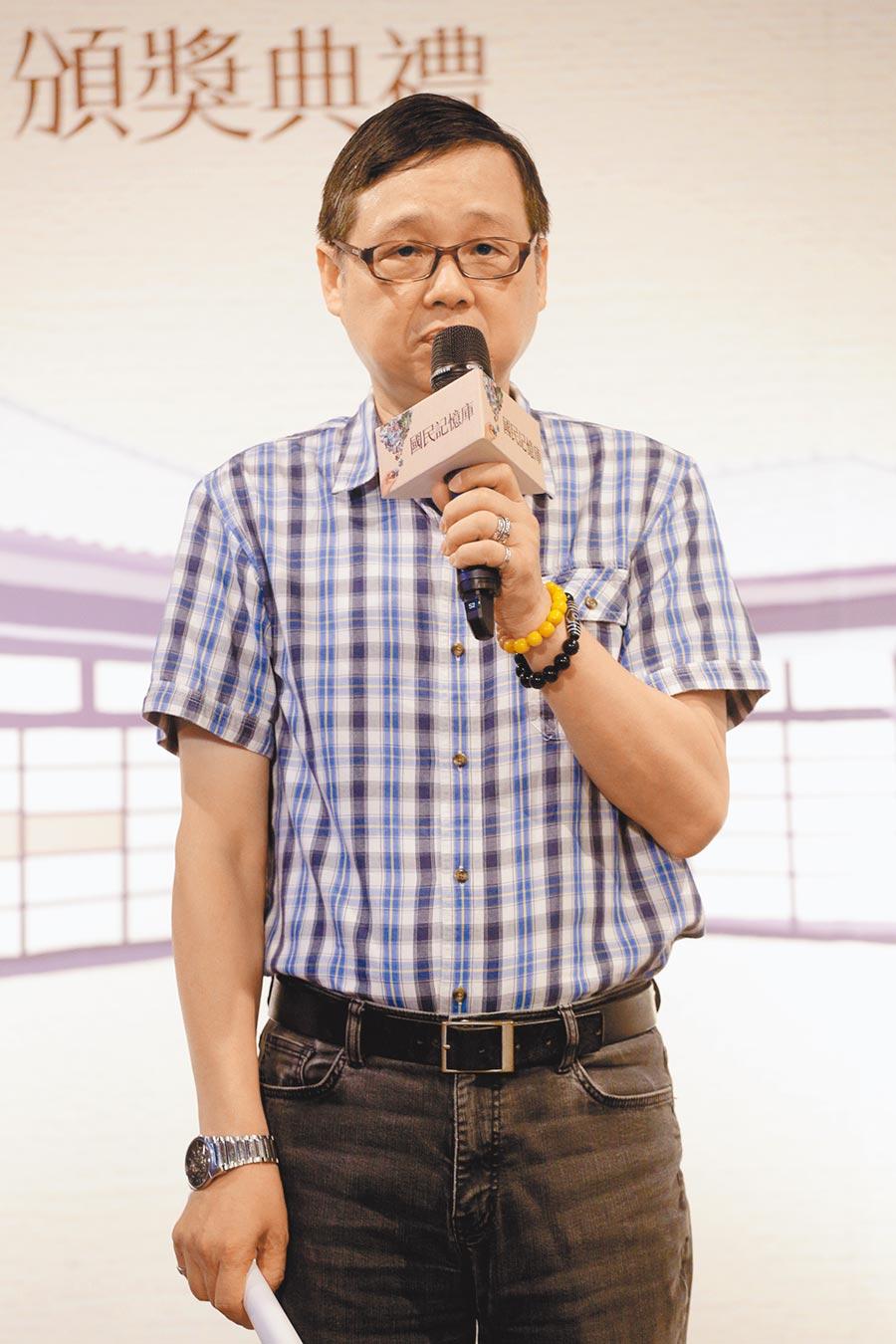 國立傳統藝術中心副主任朱瑞皓。(本報資料照片)