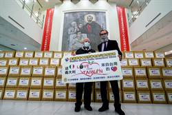 神父呂若瑟募1.5億 防疫物資今送往機場