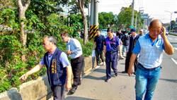 華南路與自由路口遇雨必淹  市議員為民請命