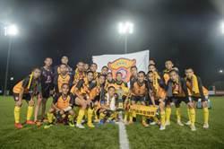 24隊競爭歷年最多 北門高中足球隊隔6年奪冠