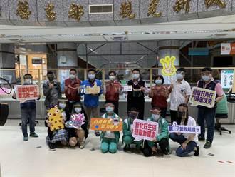 建立全面防疫網 鶯歌工商、國中捐贈鶯歌公所防護面罩